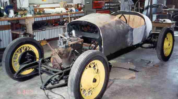 Northwest Vintage Speedsters Building A Speedster Art